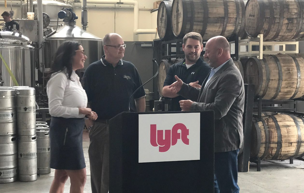 The Buffalo Niagara Brewers Association has teamed up with Lyft. (Photo courtesy BNBA).
