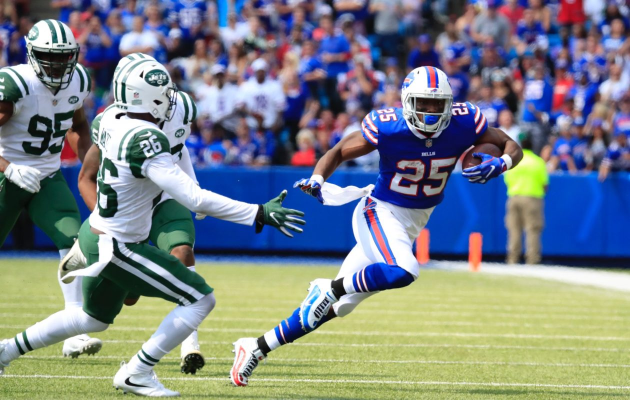 LeSean McCoy looked great in his 2017 debut. (Harry Scull Jr./Buffalo News)