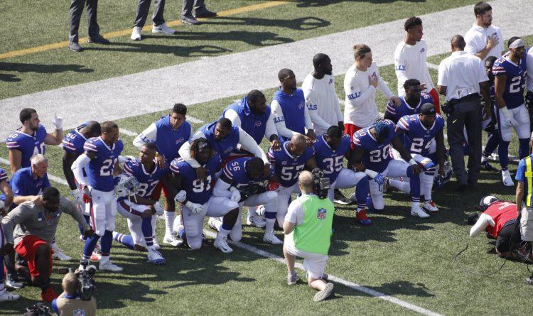 Jerry Sullivan: Finally, some Bills players take a knee