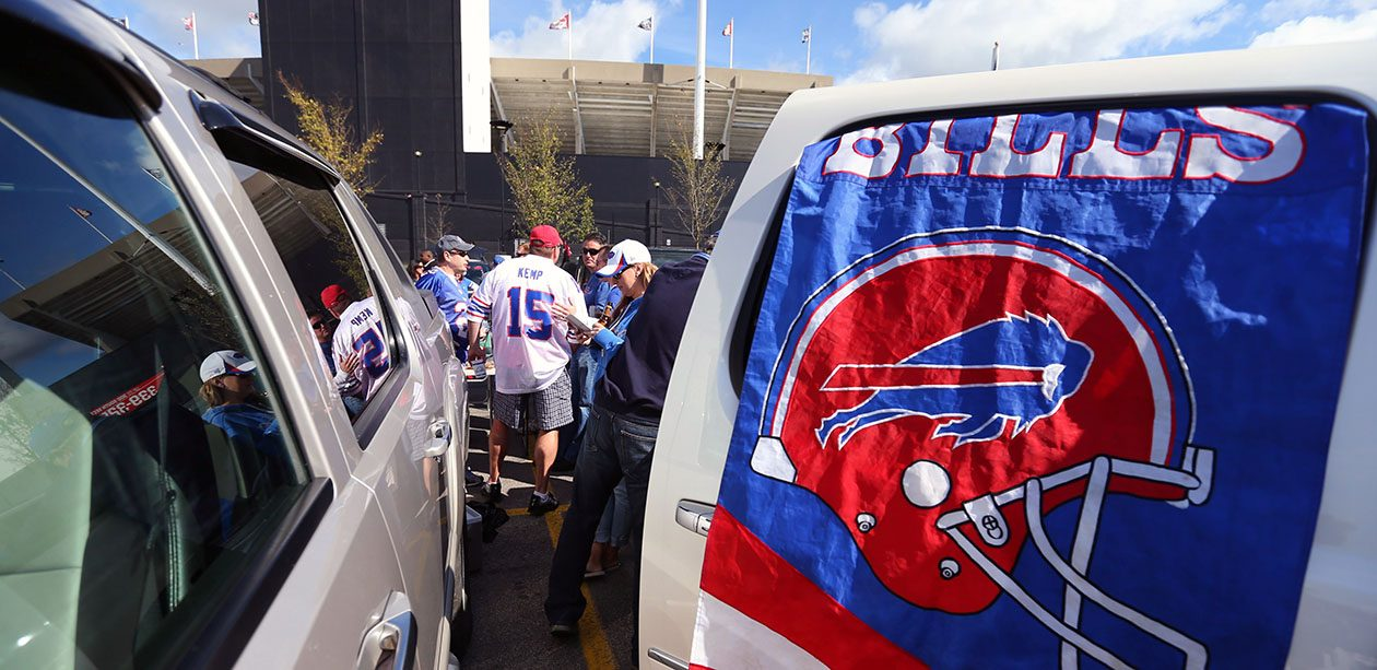 The National Weather Service is forecasting a sunny day with temperatures in the low 70s for the Bills home opener. (Mark Mulville/News file photo)