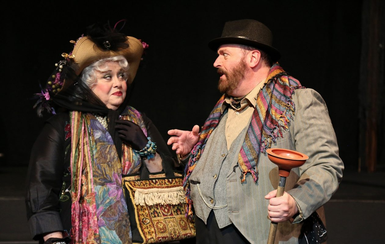 "Mary Kate O'Connell and Roger Van Dette star in ""Dear World"" through Oct. 22 at O'Connell & Company."