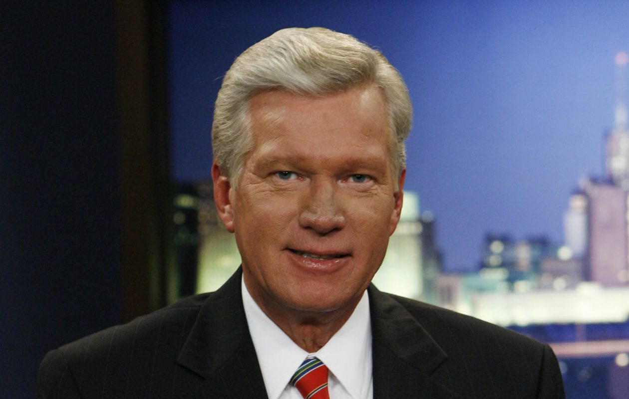 WIVB Channel 4 anchor Don Postles has been off the air for weeks. (Sharon Cantillon/Buffalo News)