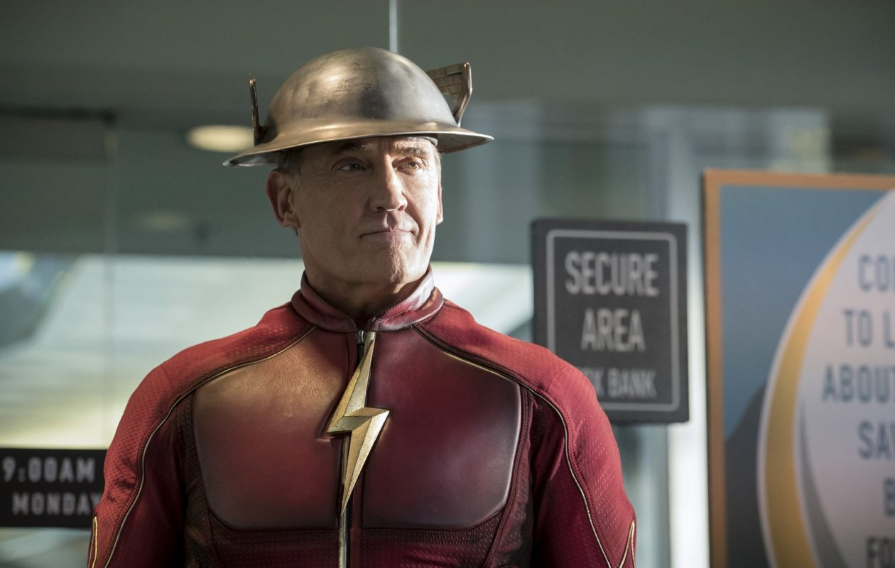 Actor John Wesley Shipp, pictured here in the CW show 'Flash,' will appear at Buffalo ComicCon. (Katie Yu/The CW)