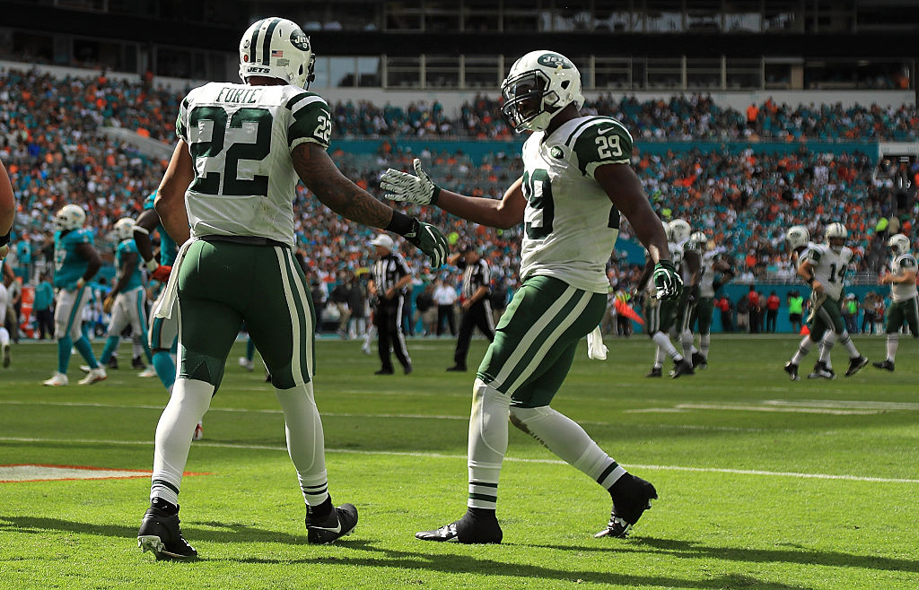 Matt Forte (22) and Bilal Powell (29) area a powerful duo in the ground game. (Getty Images)
