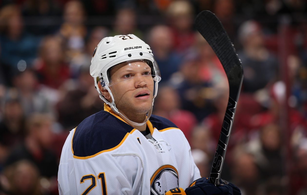 Kyle Okposo wouldn't kneel for the national anthem, but he respects the rights of those who do. (Getty Images)