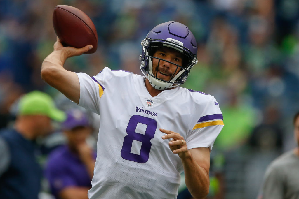 Quarterback Sam Bradford? Start him. (Getty Images)