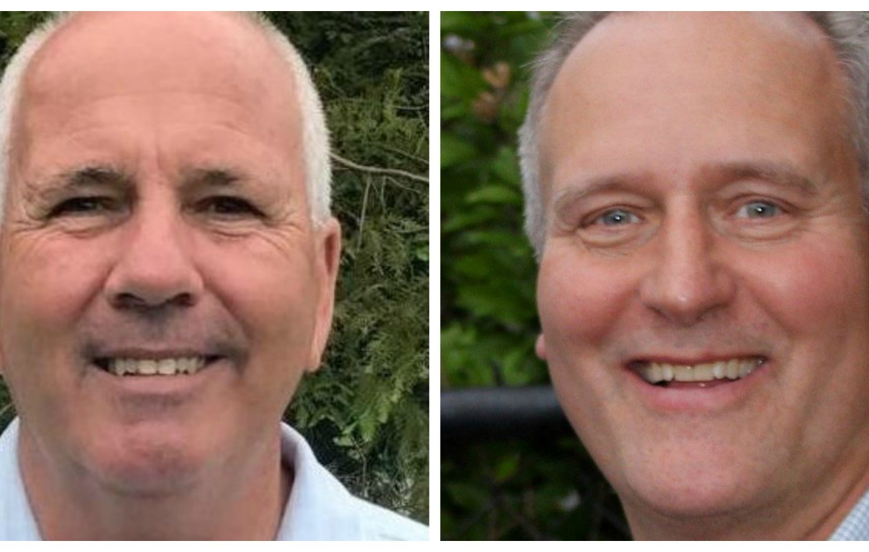 West Seneca Town Board candidates William Hanley and Dave Monolopolus are running against each other in a Democratic Party primary on Tuesday, Sept. 12, 2017.