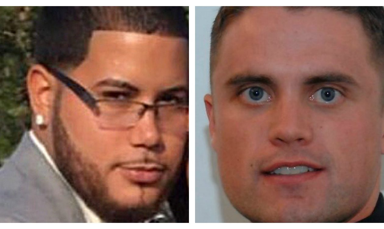 Jose Hernandez-Rossy, left, who was shot dead by Buffalo Police Officer Justin Tedesco while involved in a May 7, 2017  struggle with Officer Joseph Acquino, right.