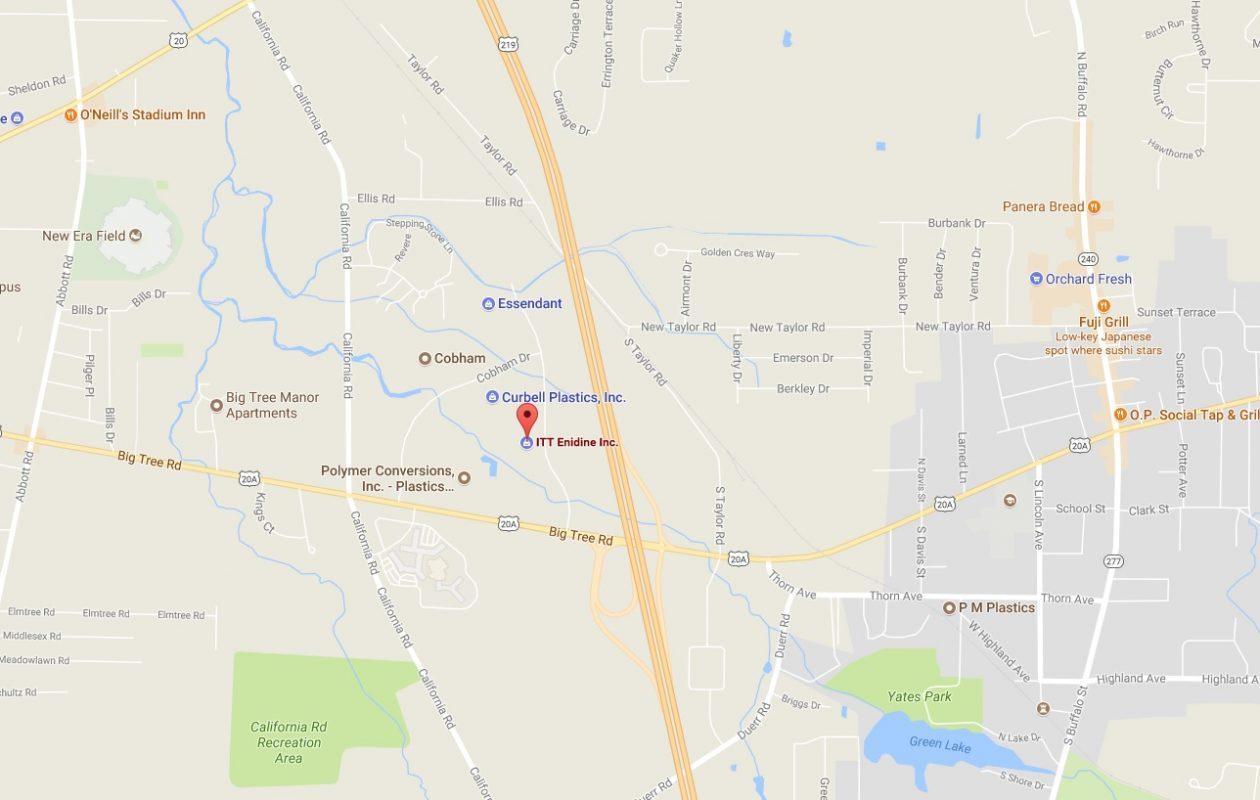 ITT Enidine Inc. is planning a $1.2 million expansion of its plant at 7 Centre Drive. (Google Maps)
