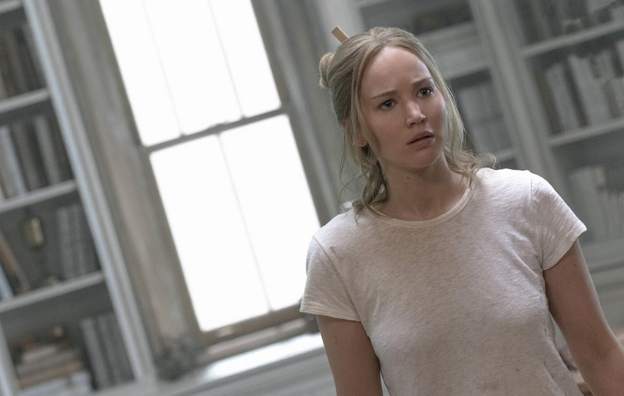 "Jennifer Lawrence in the film, ""Mother!"" (Niko Tavernise/Paramount Pictures)"