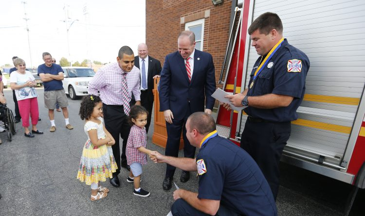 11 Lackawanna firefighters receive heroism awards for rescues during arson