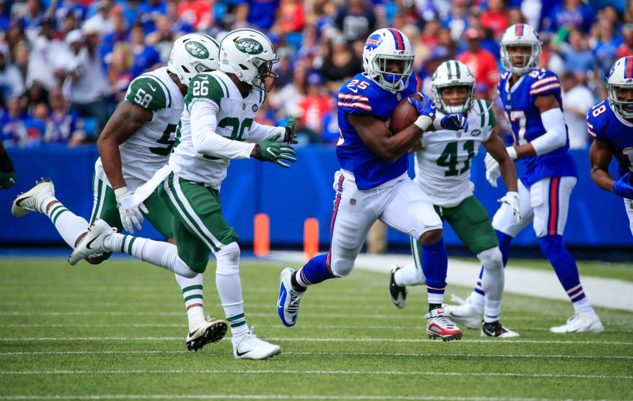 Buffalo Bills running back LeSean McCoy. (Harry Scull Jr./The Buffalo News)