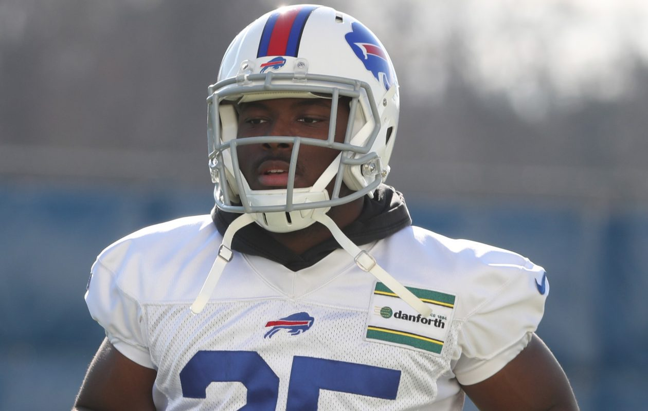 Bills running back LeSean McCoy was limited at Thursday's practice with a stomach bug. (James P. McCoy/Buffalo News)