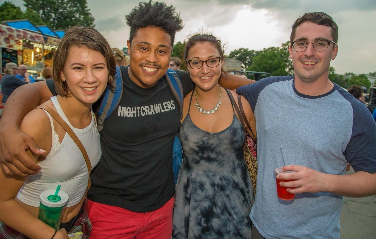 Smiling faces at the 2016 Music Is Art at the Albright-Knox. The 2017 version of the event will be at Buffalo RiverWorks for the first time. (Don Nieman/Special to The News)