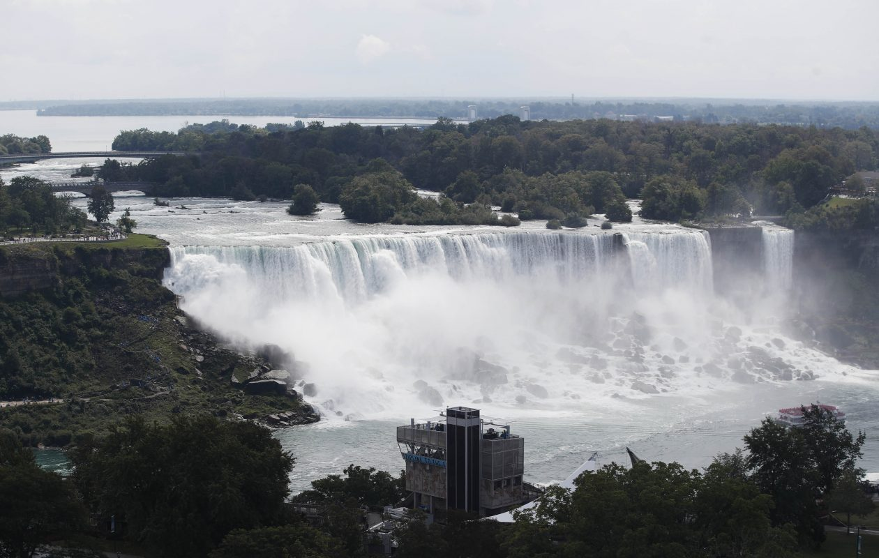 Not enough progress heas been made in capitalizing on the worldwide brand that is Niagara Falls. (Sharon Cantillon/Buffalo News file photo)