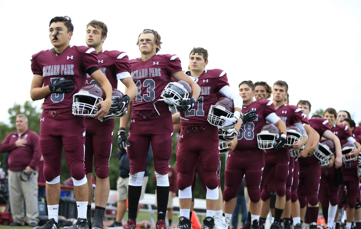 Orchard Park has had the fifth most dominant football program in New York State since 2006, according to MaxPreps. (Harry Scull Jr./Buffalo News)