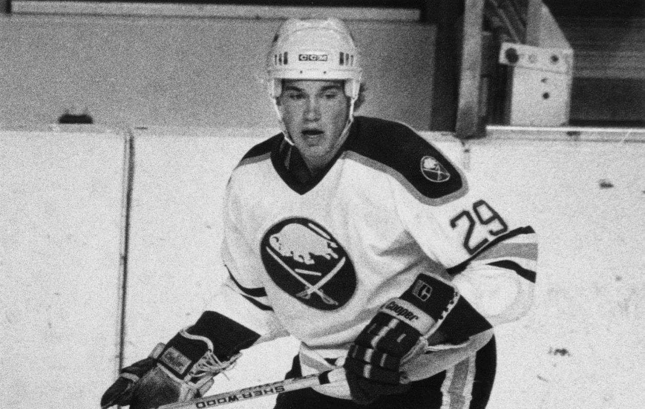 Former Buffalo Sabres player Jeff Parker. (Buffalo News file photo)