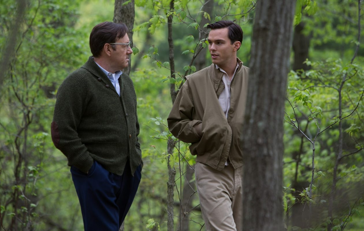 Kevin Spacey and Nicholas Hoult in 'Rebel in the Rye.' (Alison Cohen Rosa/IFC Films)