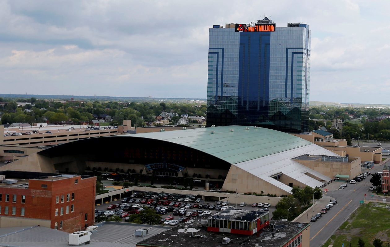 The Seneca Niagara and other casinos run by the Seneca Nation have taken hundreds of millions of dollars from Western New Yorkers. The abrupt end of revenue sharing has created a financial crisis in Niagara Falls. (Mark Mulville/Buffalo News file photo)