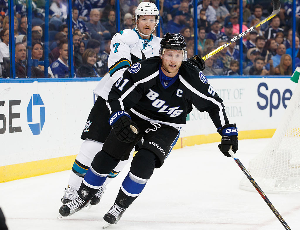 The return of Steven Stamkos figures to be a huge boost for the Lightning (Getty Images).