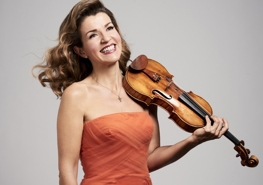 Violinist Anne Sophie Mutter will perform with the Buffalo Philharmonic Sept. 16.