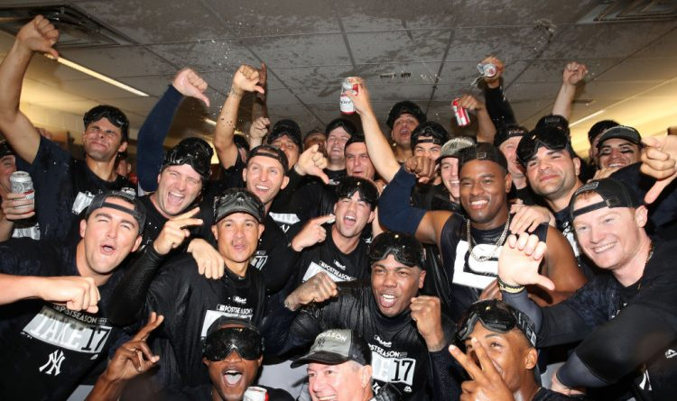 For the Yankees, it's a playoff berth worth celebrating