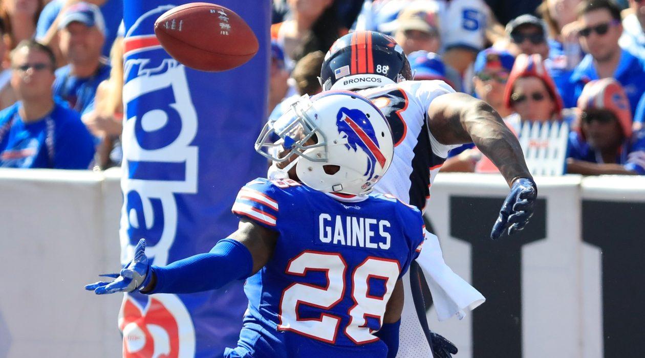 Cornerback E.J. Gaines. (Harry Scull Jr./ Buffalo News)