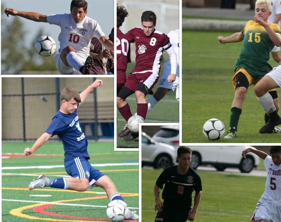 Browse 10 contenders for Prep Talk Player of the Year for Western New York. (Photo credit: All Buffalo News file photo except, lower left, courtesy of Amy Baase)
