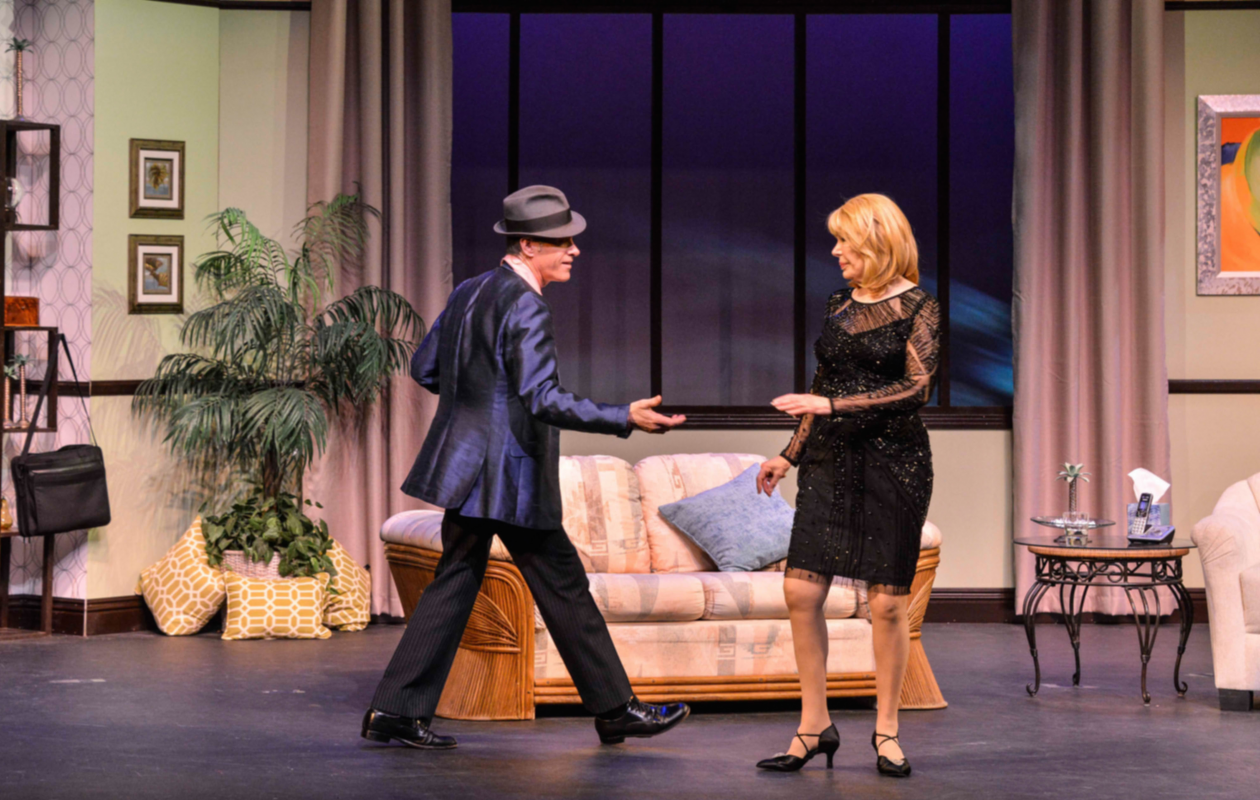 "Loretta Swit and David Engel appear in ""Six Dance Lessons in Six Weeks,"" a comedy running in Shea's 710 Main Theatre Sept. 14 to 17."
