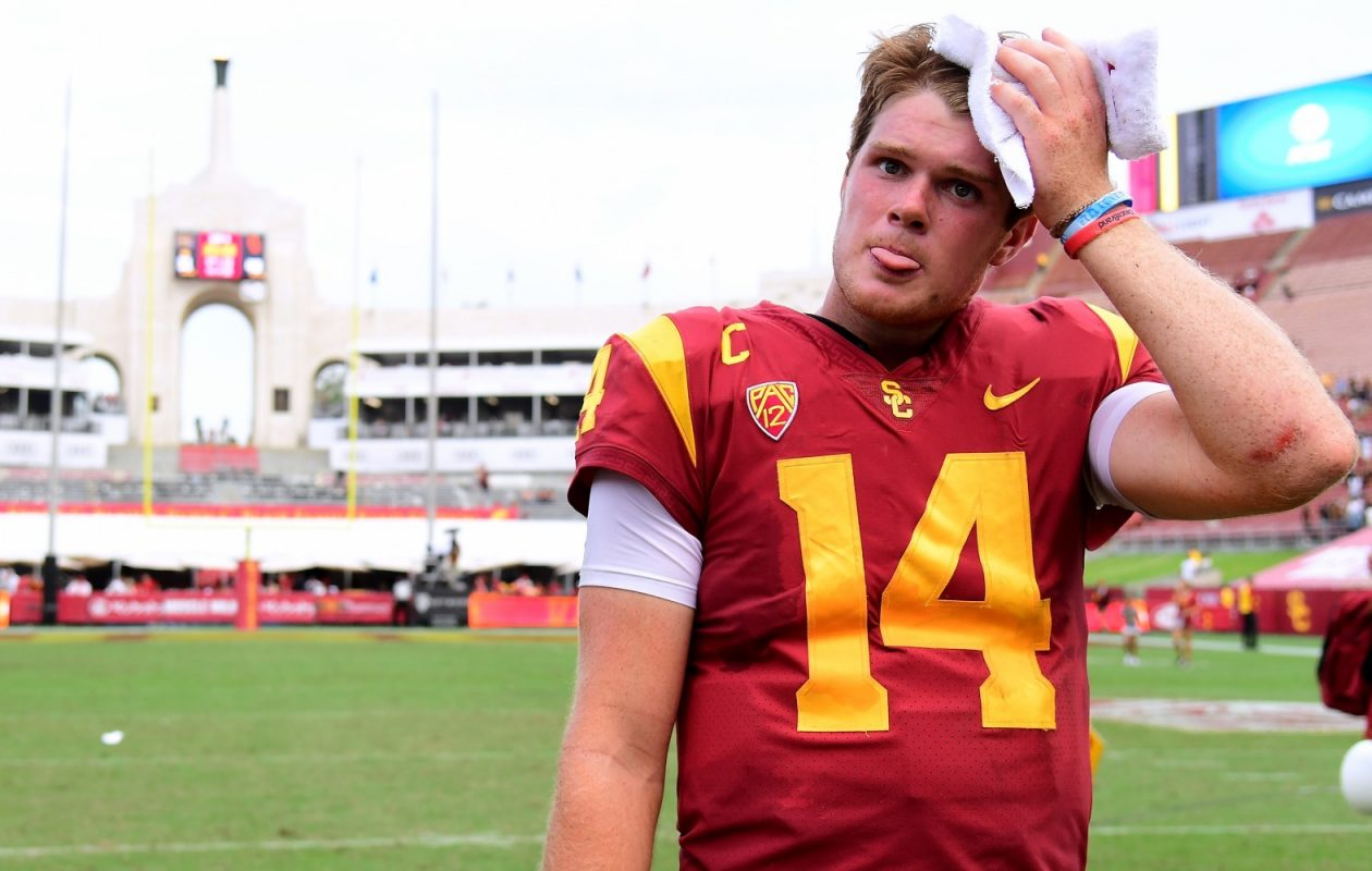 Southern Cal quarterback Sam Darnold could be the No. 1 overall draft pick  (Getty Images)