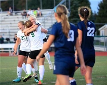 Pioneer vs. East Aurora girls soccer