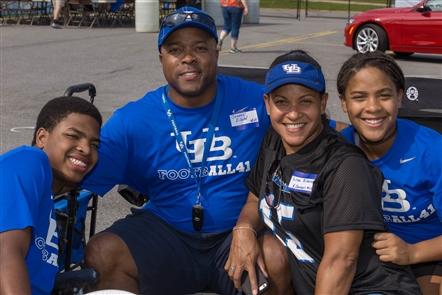 Smiles at UB Football home opener
