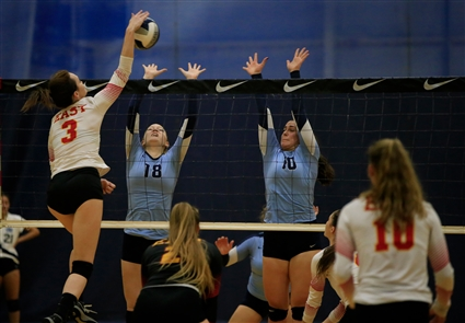 St. Mary's vs Williamsville East girls volleyball
