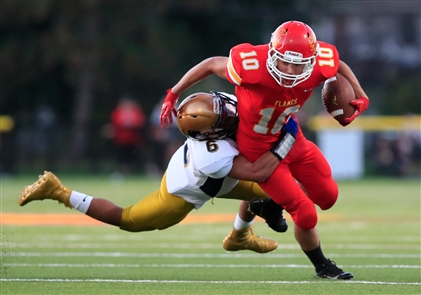 Williamsville East 21, Sweet Home 7