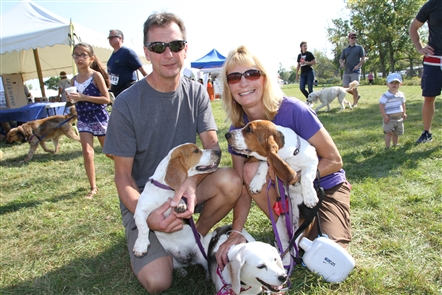 Smiles at Paws In the Park at Beaver Island