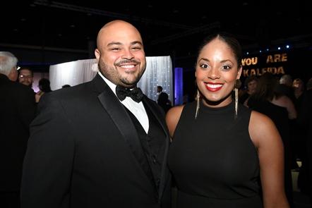 Smiles at Kaleida Black Tie Gala
