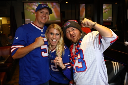 Smiles at Lodo's Bar & Grill, Bills Backers bar in Denver