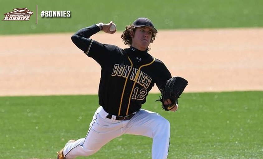 St. Bonaventure alum Connor Grey pitched a perfect game for Class-A Kane County. (St. Bonaventure media relations)