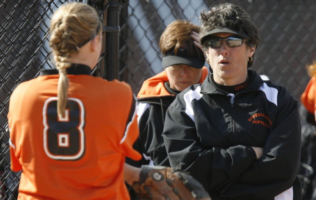Sandra Hollander took Buffalo State softball to heights that will be hard to match. (John Hickey/Buffalo News)