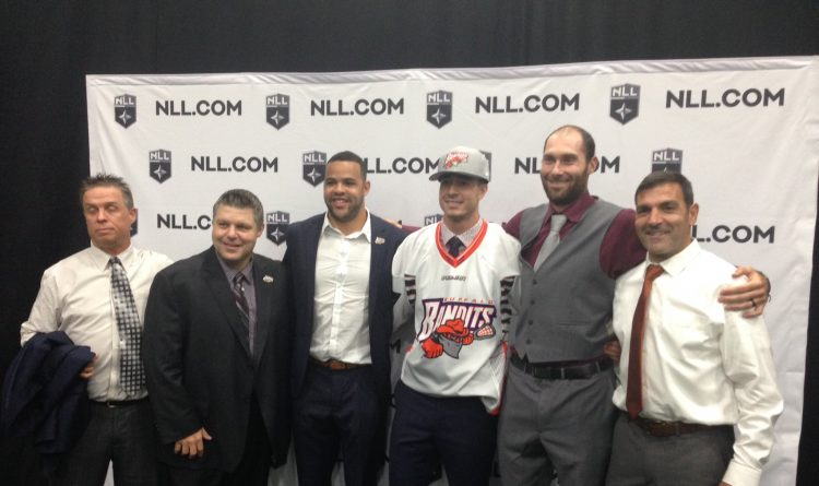 Bandits pick elite lefty Josh Byrne with No. 1 pick in NLL Draft