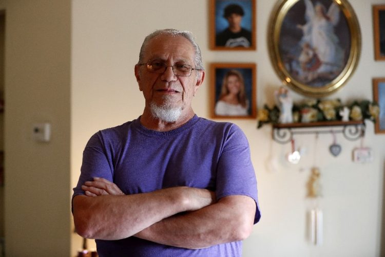 Retired Teamster Frank Lipka. (Mark Mulville/Buffalo News)