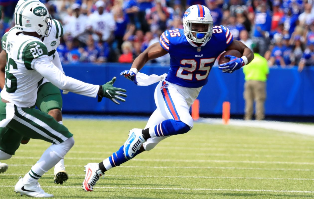 "There is no doubt LeSean McCoy is the Buffalo Bills' ""bell-cow"" running back – whatever that is. (Harry Scull Jr./Buffalo News)"