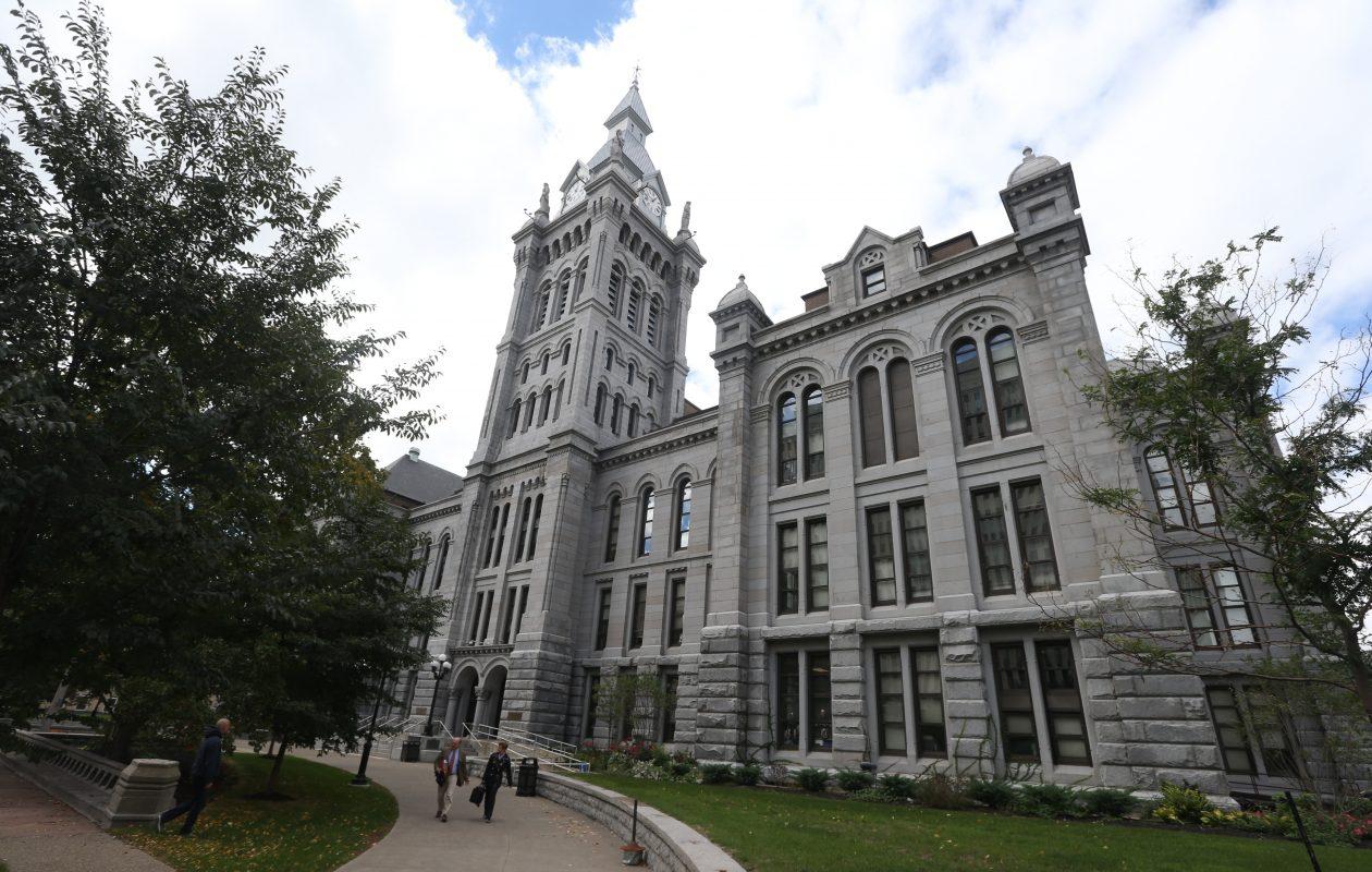 Old County Hall is home to the County Legislature. (John Hickey/Buffalo News file photo)