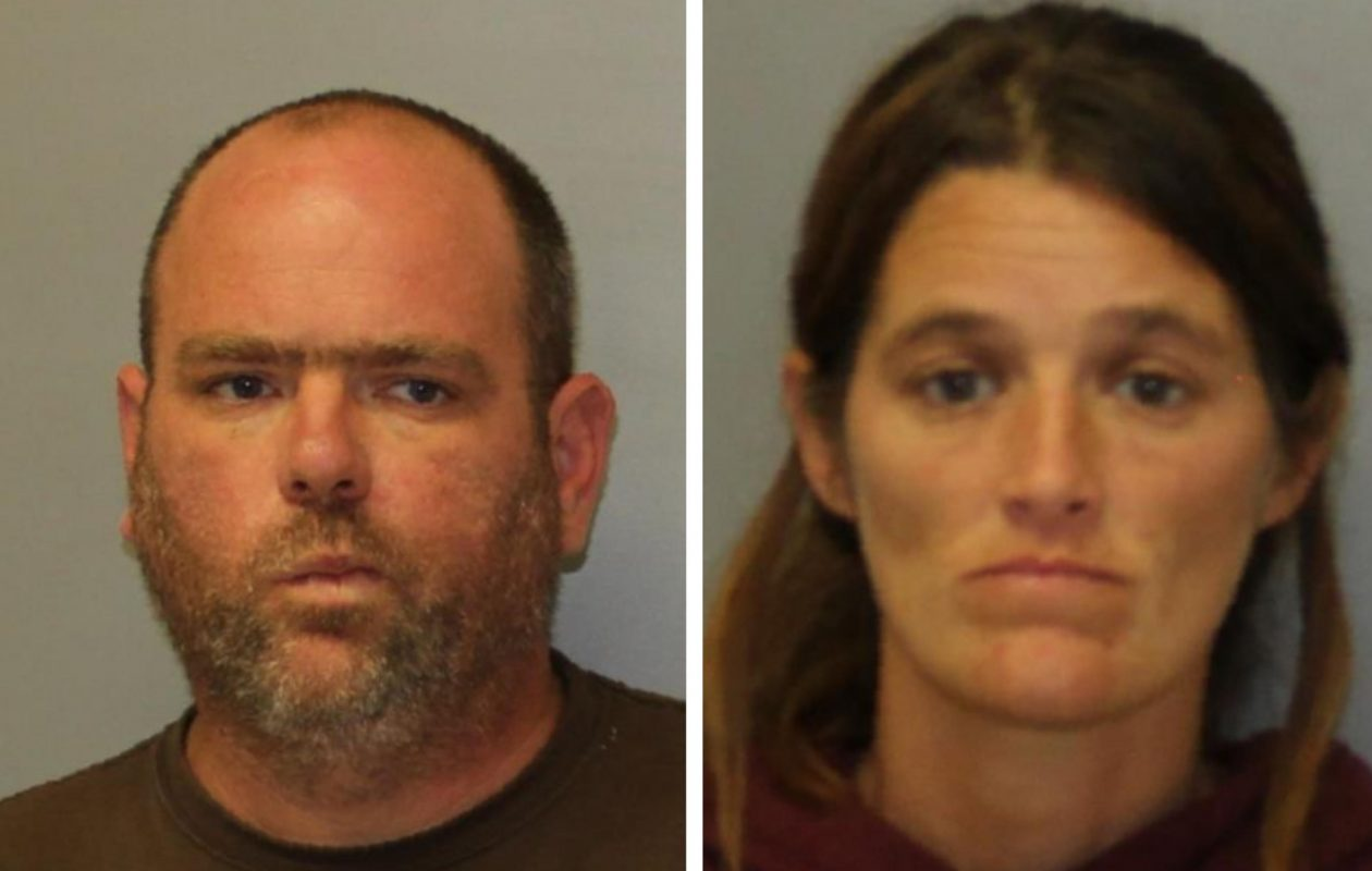 Donald F. Reinhart (left) and Amanda S. Reinhart (Provided by New York State Police)