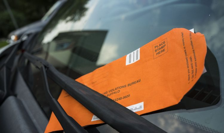 How do parking tickets on your block compare with the rest of Buffalo?