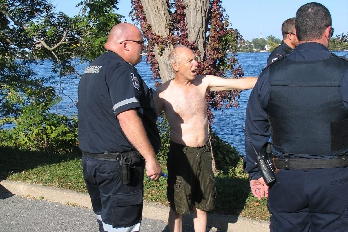 Randy Mathewson of Fort Erie, Ont. rescued a man from the  Niagara River. (Harry Rosettani/Special to the News)