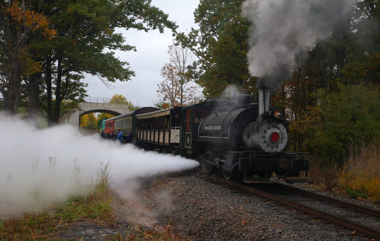 The Holiday Steam Express, also known as the Buffalo, Cattaraugus & Jamestown Scenic Railway, is offering rides in December. (John Hickey/News file photo)