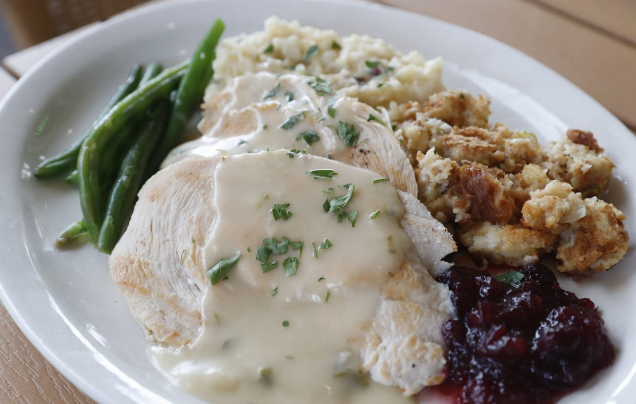 Wednesday night is turkey dinner night at The Place.             (Mark Mulville/Buffalo News)