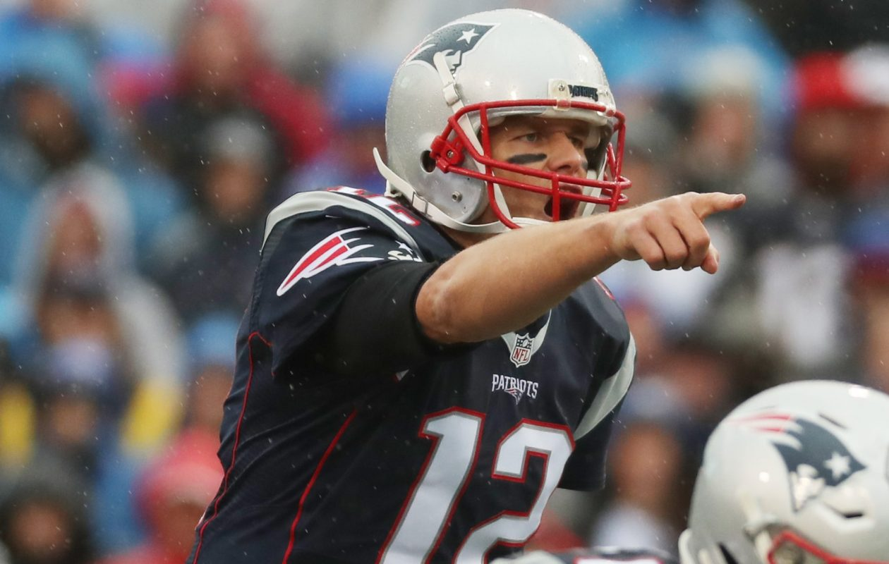 Tom Brady. (James P. McCoy/Buffalo News)