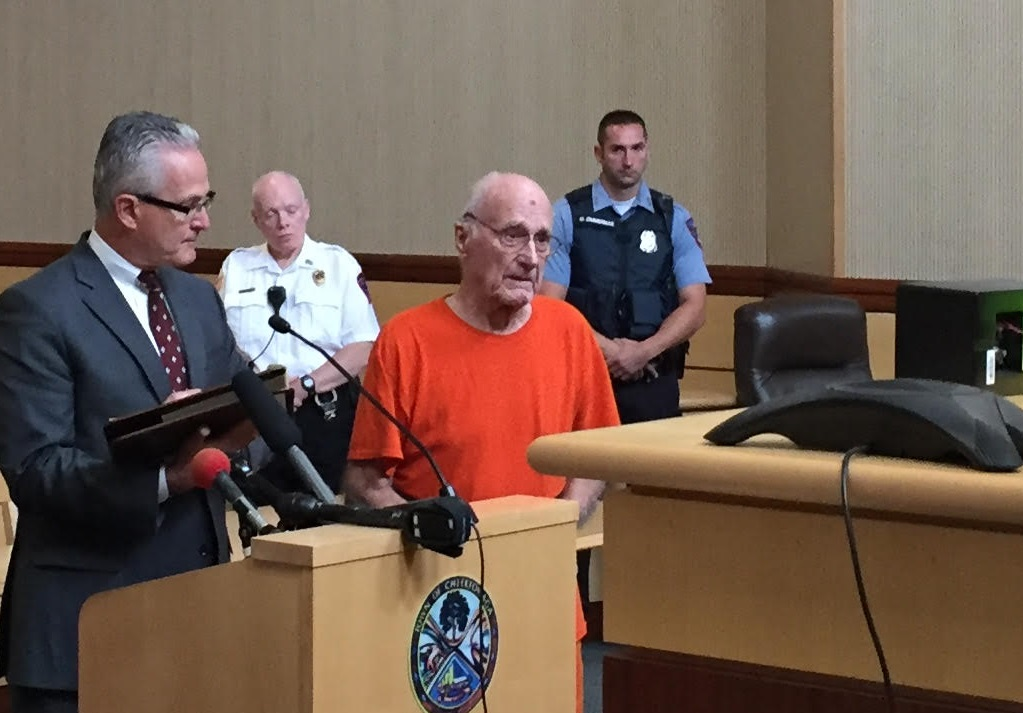 Martin J. Turkiewicz, 88, of Cheektowaga, is accused of trying to kill his wife.  (Aaron Besecker/Buffalo News)